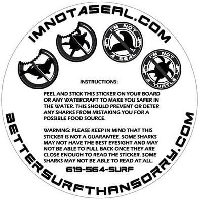 5 cm 1 autocollant Tiki Surfer 01 tendance dr/ôle cool vinyle imperm/éable