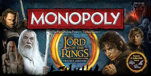 Monopoly: Lord of The Rings Collectors - Of Lord The Rings Monopoly