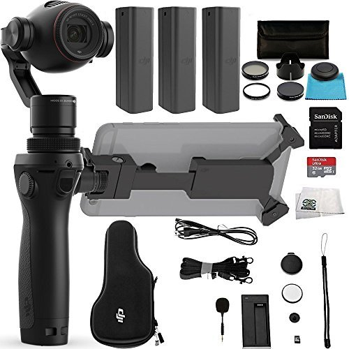 DJI OSMO+ Plus Handheld Fully Stabilized 4K Camera Ultimate