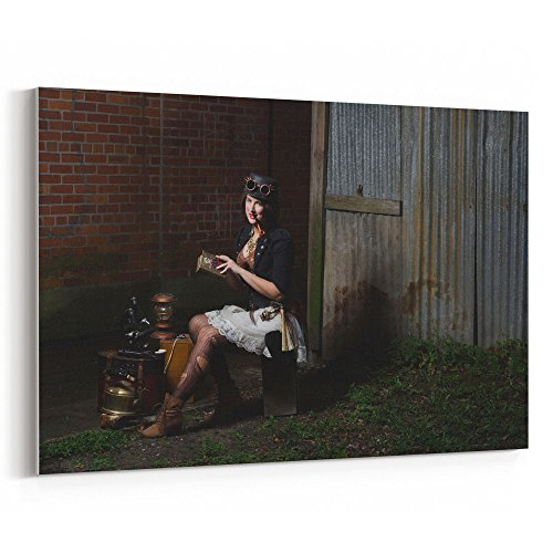 Westlake Art - People Woman - 24x36 Canvas Print Wall Art -