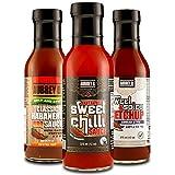 Aubrey D. Classic Habanero BBQ XXX Hot Sweet Chilli Sauce, 12 Ounce