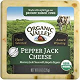 Organic Valley Pasture Pepper Jack Cheese, 8 Ounce -- 12 per case.