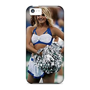 For Iphone 5c Premium Tpu Case Cover Indianapolis Colts Cheerleaders Protective Case