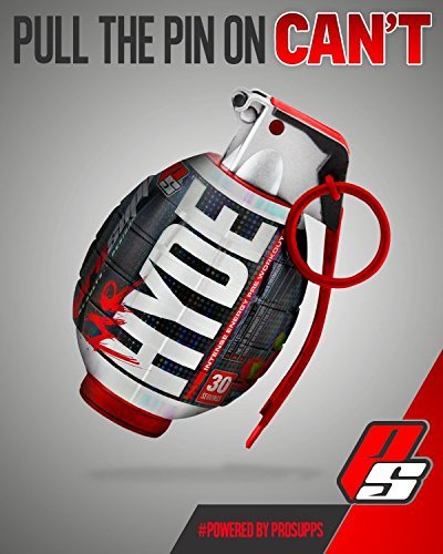 ProSupps Mr Hyde Intense Energy Pre Workout Pikatropin Free Formula