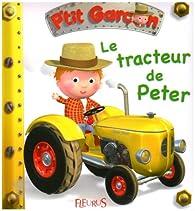 Book's Cover ofLe tracteur de Peter