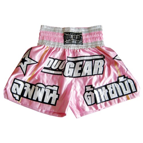 'DUO STARS' MUAY THAI KICKBOXING BOXING MARTIAL ARTS TRAINING TRUNKS FIGHTING SHORTS DUO GEAR