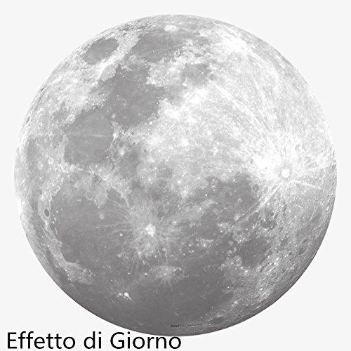 Luna Nascosto Paessaggi Adesivi Murali Fluorescenti Camera da Letto ...