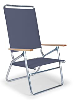 Telescope Casual Light and Easy High Boy Folding Beach Arm Chair Navy  sc 1 st  Amazon.com : high back easy chair - Cheerinfomania.Com