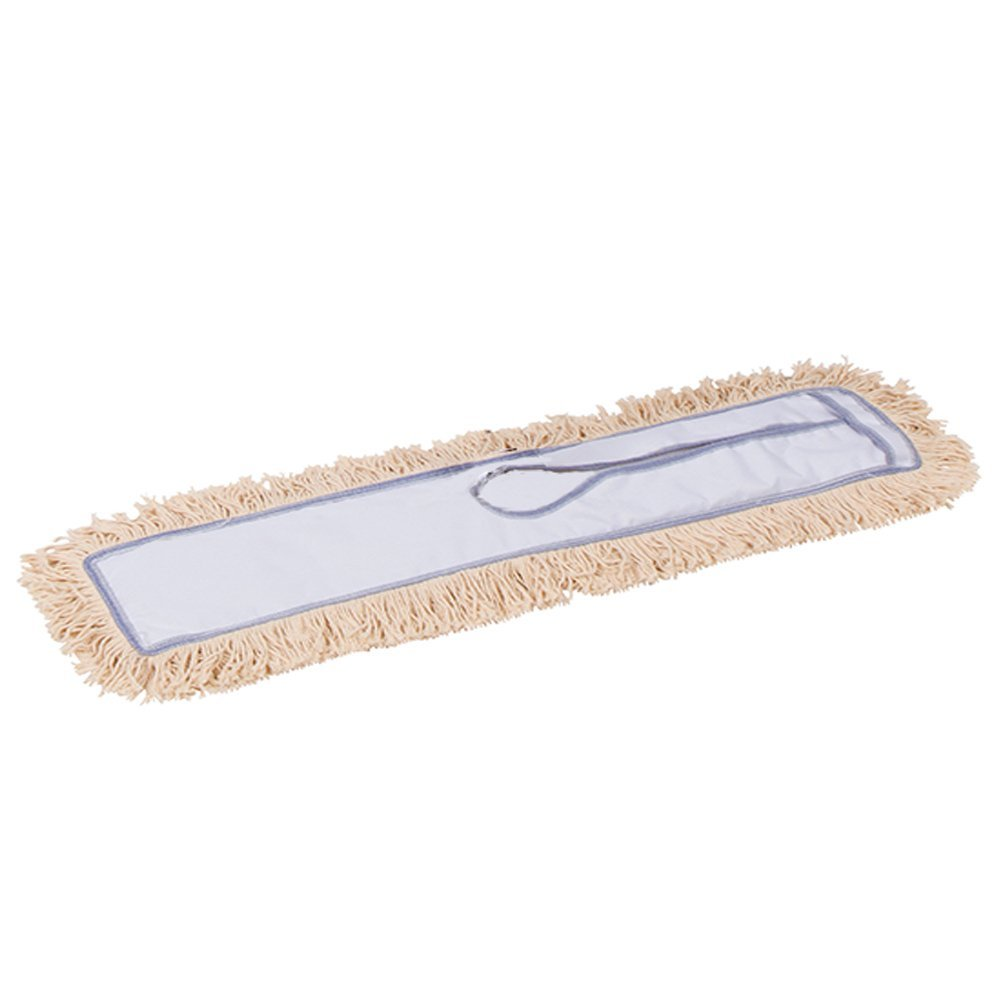 AMR Market 30 Inch Industrial Strength Cotton Dust Mop Refill - Dust Mop Head Replacement for 30 X 5 - Mop Head Only