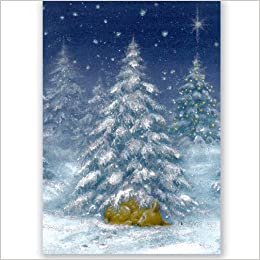 Sleeping Deer Holiday Boxed Cards (Christmas Cards, Holiday Cards ...