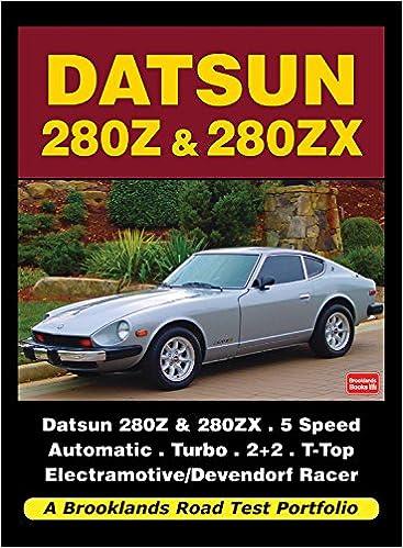 Datsun 280Z & 280ZX Road Test Portfolio Brooklands Books Road Tests Series: Amazon.es: R. M. Clarke: Libros en idiomas extranjeros