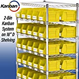 Akro-Mils 30237BLACK Plastic Storage Stacking