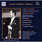 Jascha Heifetz - Works for Violin and Orchestra