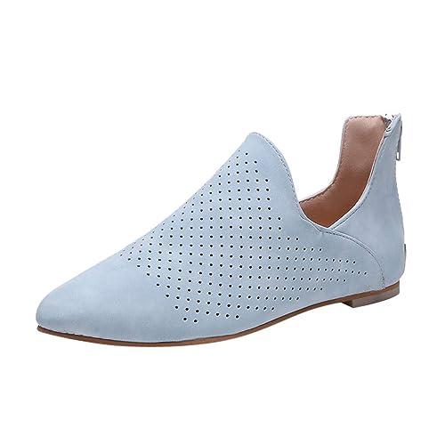 MObast Chaussure Femme Chaussure Bateau Style De Rome