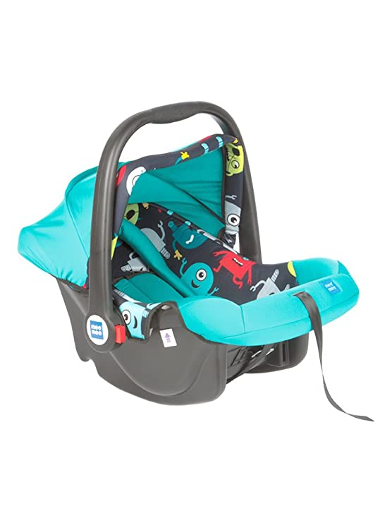 Mee Mee Baby Car Seat Cum Carry Cot with Thick Cushioned Seat (Pista Green)