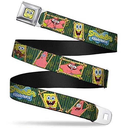 Buckle-Down Seatbelt Belt - SpongeBob & Patrick Starfish