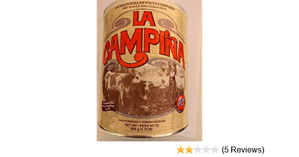 Amazon.com : Leche En Polvo La Campiña - Powdered Milk (1.76 Lb) : Dry Milk : Grocery & Gourmet Food