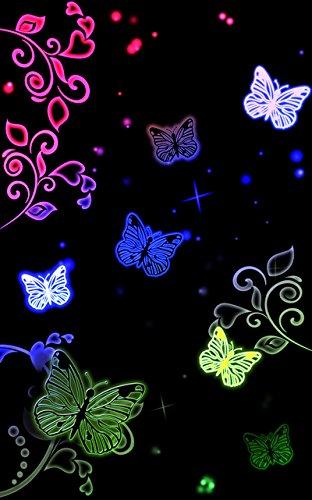 """Disagu Design Case Coque pour Apple iPhone 6 PLUS Housse etui coque pochette """"Butterfly Neon"""""""