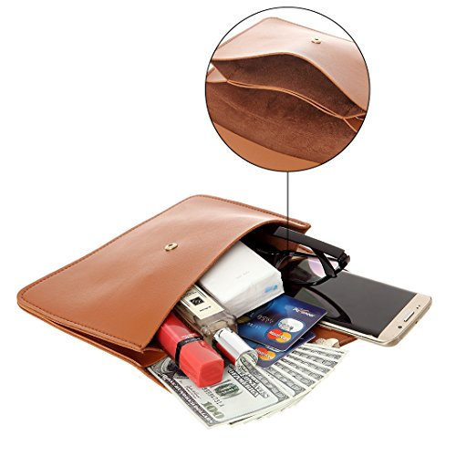 For Purse Fashion Leather Women Purse Synthetic Brown2 Small Bags Cell Crossbody Phone Sq0fz