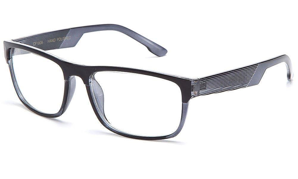 IG Unisex Clear Lens Squared Frame Fashion Glasses Newbee Fashion