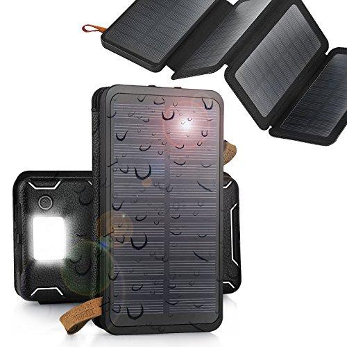 aokey-12000mah-solar-charger-4-sunpower-panel-portable-solar-power-bank-waterproofdustproof-solar-ba