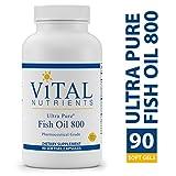 Cheap Vital Nutrients – Ultra Pure Fish Oil 800 (Pharmaceutical Grade) – Hi-Potency Deep Sea Fish Oil, Cardiovascular Support – 90 Softgel Capsules