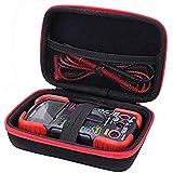 Aenllosi Hard Case for Fits INNOVA 3320/3340 Auto-Ranging Digital Multimeter (red)