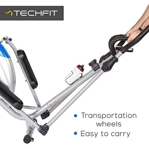 Techfit Optimuscity Cross Trainer, Bicicletta Ellittica Per La Casa, La Macchina Perdita Di Peso Per Esercizio Cardio E Fitness, Magnetico Resistenza Adatto Dispositivo Per Interni