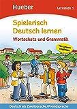 Spielerisch Deutsch lernen. Wortschatzvertiefung und Grammatik. Lernstufe. Per la Scuola elementare: 1