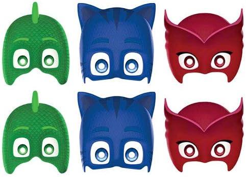 STAR CUTOUTS Ltd SMP379 PJ máscaras de cartón para la Cara ...