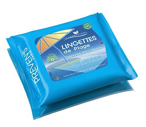 PREVEN'S Lingettes de Plage 15 Lingettes Dessalantes Preven's Preven S