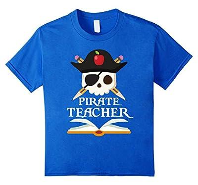 Pirate Teacher For Halloween Costume T-Shirt