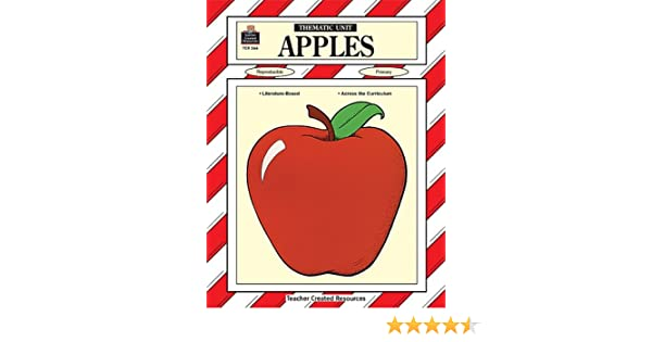 Counting Number worksheets johnny appleseed worksheets for 2nd grade : Amazon.com: Apples: Thematic Unit (Teacher Created Materials ...