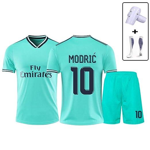 Haoshangzh55 - Uniforme de fútbol para niños del Real Madrid Luka ...