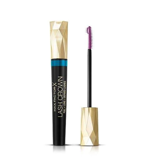 Max Factor Masterpiece Lash Crown Mascara Black Waterproof/EyeCare – Rímel con kronenförmiger Cepillo para