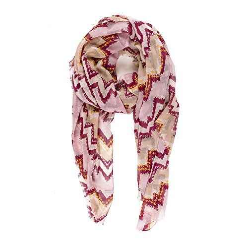 Scarf for Women Lightweight Wave Design Fashion Fall Winter Scarves Shawl Wraps by Melifluos (NF36-3)