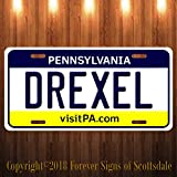 Drexel Pennsylvania City/College State Aluminum Vanity License Plate New