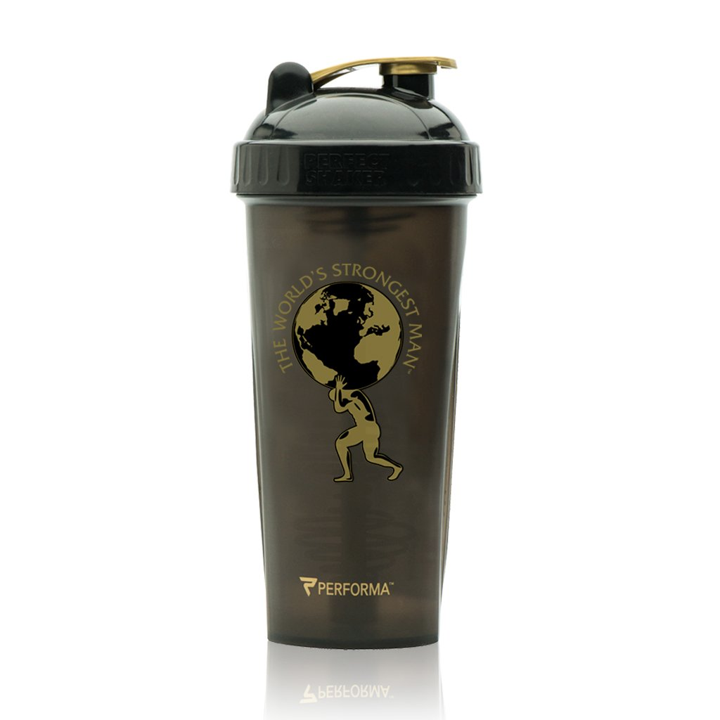 Performa Perfect Shaker - Worlds Strongest Man, Best Leak Free Bottle With Actionrod Mixing Technology For Your Sports & Fitness Needs! Dishwasher and Shatter Proof