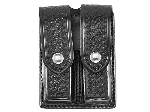 - Aker Leather 510 Double Magazine Pouch
