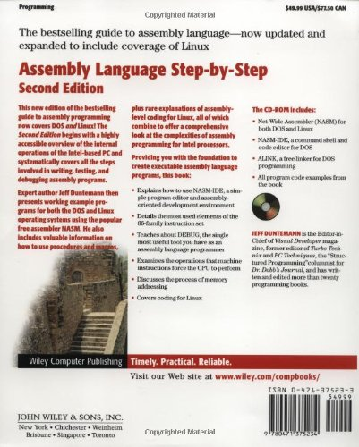 Amazon fr - Assembly Language Step-by-Step: Programming with