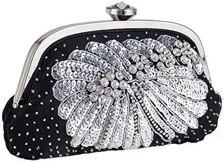 ハンドバッグ - 優雅なディナーをパックする、野生の真珠は、クラッチをビーズファッションモデル、さんの結婚式の休日ギフトのチェーンショルダーハンドバッグ よくできた
