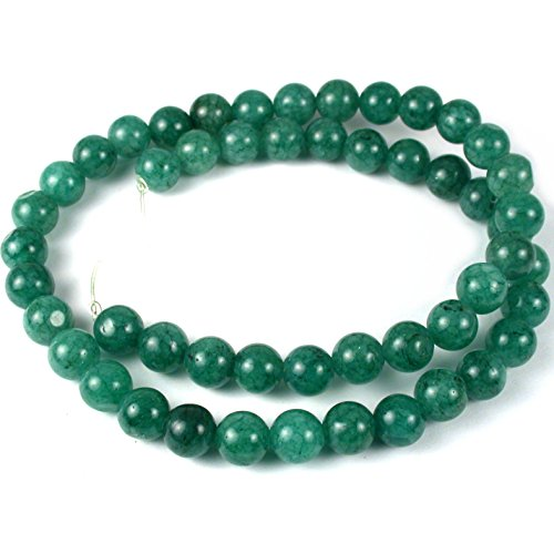 UnCommon Artistry Green Aventurine 8mm Round Gemstone Beads 16 in (Aventurine Beads 16 Inch Strand)