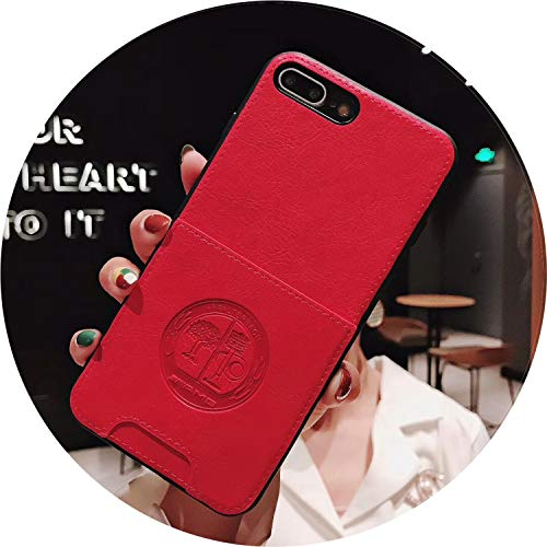 - Fashion Motorsport AMG M Card Pocket Slot Soft Leather Cover case for iPhone XR X XS MAX 7 8 Plus Luxury car Busines Phone Coque,4,for iPhone XR