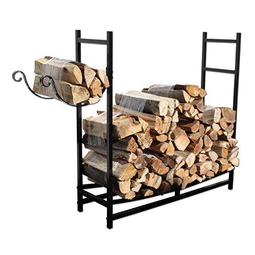 Rustic Firewood Rack - 7