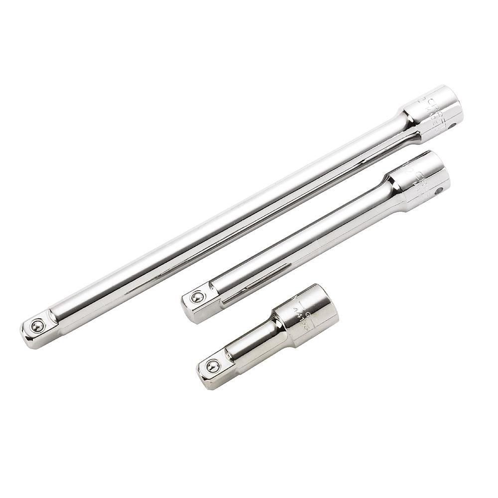 Craftsman 3 Piece Extension Bar Set, 1/2 Inch Drive, 9-43283