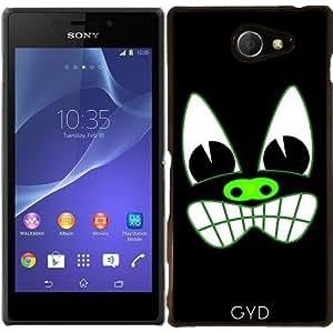 Funda para Sony Xperia M2 - Cara Del Monstruo by hera56