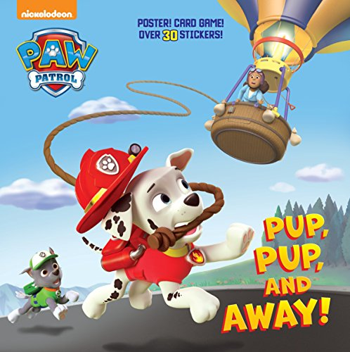 (Pup, Pup, and Away! (Paw Patrol) (Super Deluxe Pictureback) (Pictureback(R)))