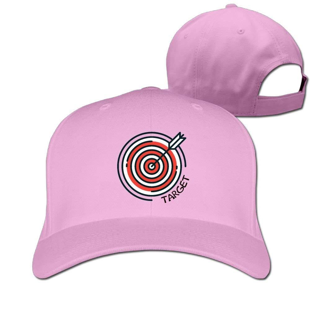 KLing Archery Target Unisex Classic Baseball Cap Washed Adjustable Dad Hat one size