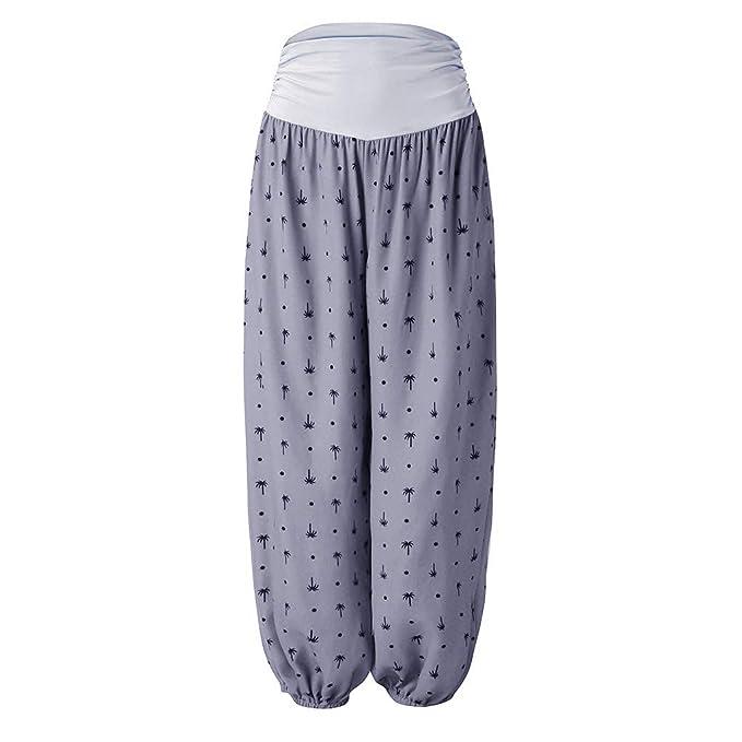 Loolik Pijama Yoga de Super Soft Impresión Pantalones de de ...