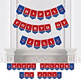 Big Dot of Happiness 4th of July - Independence Day Party Bunting Banner - 4th of July Party Decorations - Happy Fourth of July